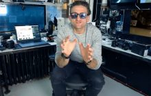 Casey Neistat in his New York studio