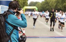 Freelance sports photographer