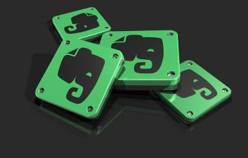 pile of Evernote app icons