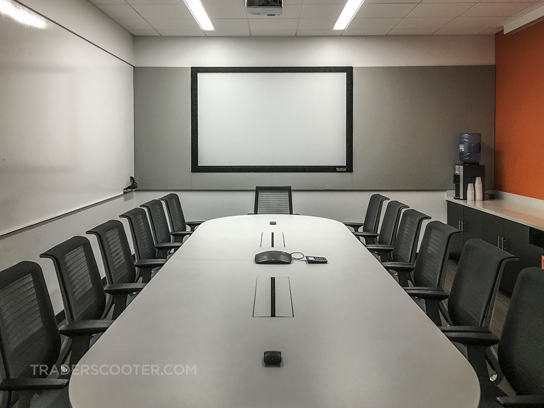 boring corporate job conference room