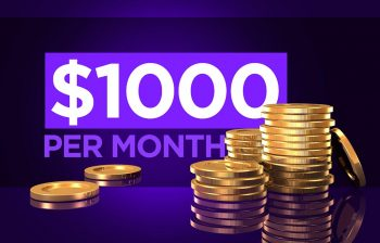 How to make $1000 a month online from scratch