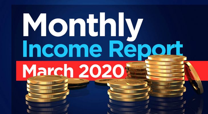 traderscooter monthly income report march 2020
