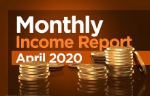 traderscooter monthly income report April 2020