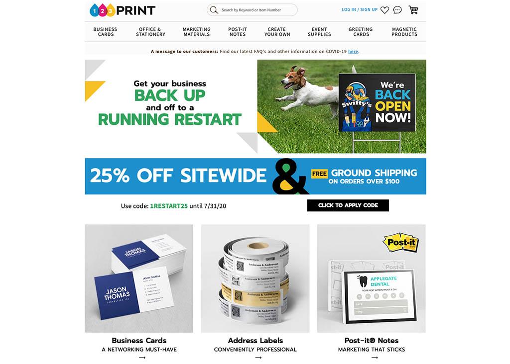 123print website