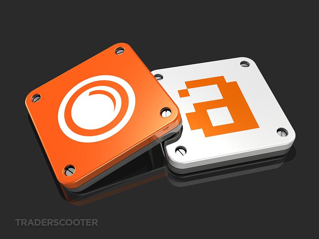 semrush vs ahrefs 3d logos